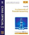 Cima Learning System 2007 Fundamentals of Financial Accounting