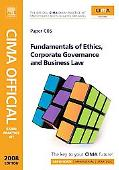 CIMA Official Exam Practice Kit Fundamentals of Ethics, Corporate Governance and Business Law