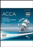 Acca - F4 Corporate and Business Law (Glo) (Ipass CD Rom)