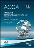 Acca - F4 Corp and Business Law (Glo): Revision Kit