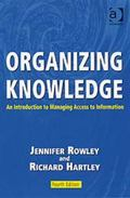 Organizing Knowlege