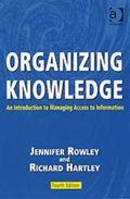 Organizing Knowlege