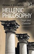 Hellenic Philosophy Origin And Character