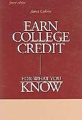 Earn College Credit for What You Know