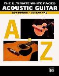 Acoustic Guitar The Ultimate White Pages  Guitar Tab