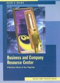 Business and Company Resource Center -User's Guide (Custom)