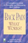 Back Pain - What Works: A Comprehensive Guide to Preventing and Overcoming Back Problems - J...