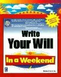 Write Your Will in a Weekend