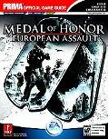 Medal Of Honor European Assault Prima's Official Strategy Guide