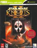 Star Wars Knights of The Old Republic II The Sith Lords, Prima Official Game Guide DVD Enhanced