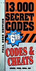 Codes & Cheats Fall 2005 Edition
