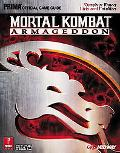 Mortal Kombat Armageddon Prima Official Game Guide