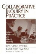 Collaboratiave Inquiry in Practice Action, Reflection, and Making Meaning