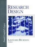 Research Design Donald Campbell's Legacy