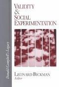 Validity & Social Experimentation Donald Campbell's Legacy