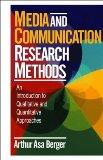 Media and Communication Research Methods An Introduction to Qualitative and Quantitative App...