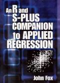 R and S-Plus Companion to Applied Regression