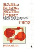 Research And Evaluation In Education And Psychology Integrating Diversity With Quantitative ...