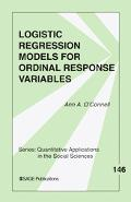 Logistic Regression Models for Ordinal Response Variables