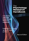 Psychology Research Handbook A Guide for Graduate Students And Research Assistants