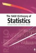 Sage Dictionary of Statistics a practical resource for students in the social sciences