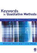 Keywords in Qualitative Methods A Vocabulary of Research Concepts