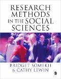 Research Methods in the Social Sciences A Guide for Students and Researchers