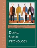 Doing Social Psychology