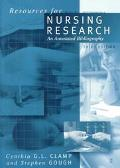 Resources for Nursing Research An Annotated Bibliography