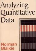 Analyzing Quantitative Data From Description to Explanation