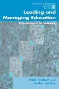 Leading and Managing Education International Dimensions