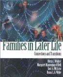Families in Later Life Connections and Transitions