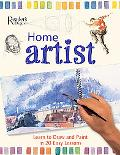 Home Artist Learn to Draw and Paint in 20 Easy Lessons