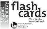 Organic Chemistry Flash Cards