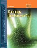 Criminology Theory, Research, And Policy