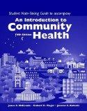 Introduction to Community Health - Student Note-Taking Guide