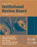 Study Guide for Institutional Review Board Management and Function - Amy L. Davis - Paperbac...
