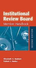 Institutional Review Board Member Handbook