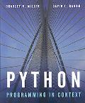 Python Programming in Context