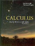 Calculus: Early Transcendentals, Fourth Edition (The Jones and Bartlett Publishers Internati...