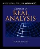 Elements Of Real Analysis (International Series in Mathematics)