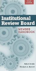 Institutional Review Board: Member Handbook