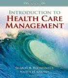 Introduction to Health Care Management 2E