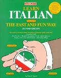 LEARN ITALIAN THE FAST & FUN WAY BOOK (P)