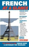 Barron's French at a Glance Phrase Book & Dictionary for Travelers