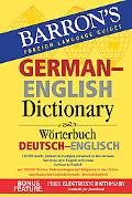 Barron's German-english Dictionary Worterbuch Deutsch-englisch