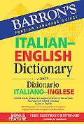 Barron's Italian-english Dictionary Dizionario Italiano-inglese