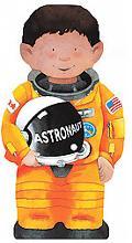 Astronaut (Mini People Shape Books Series)