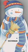 Snowman (Little People Shape Books)