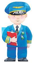 Pilot (Little People Shape Books)